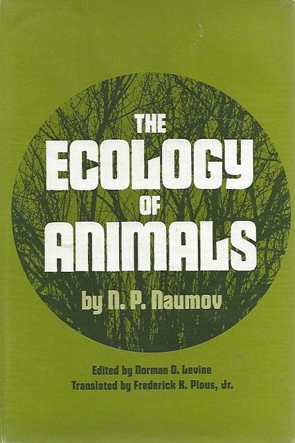 The Ecology of Animals.