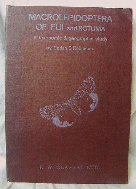 Macrolepidoptera of Fiji and Rotuma.