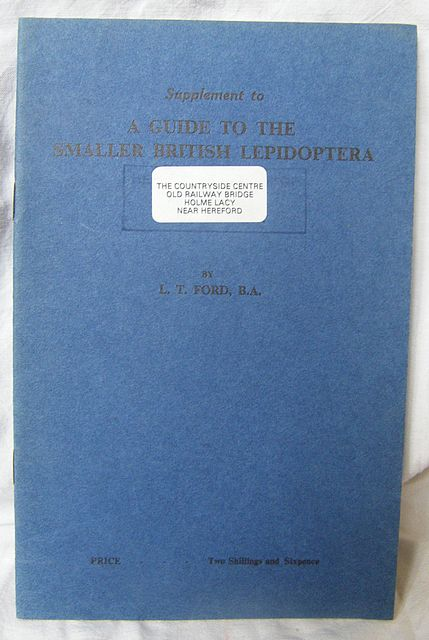 Supplement to A Guide to the Smaller British Lepidoptera.