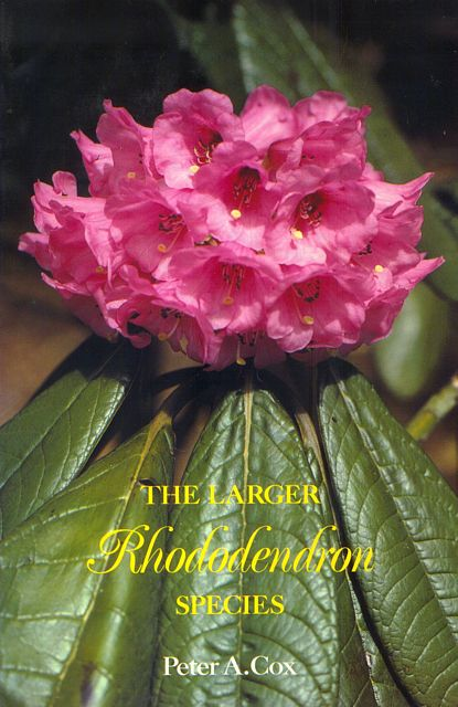 The Larger Rhododendron Species.