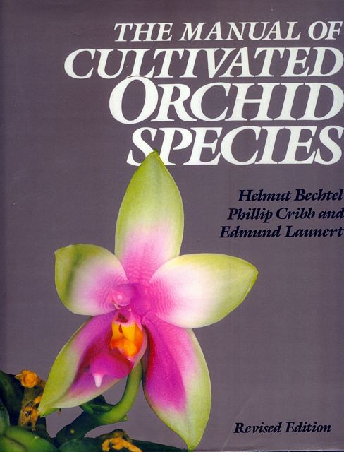 The Manual of Cultivated Orchid Species.