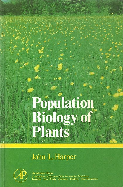 Population Biology of Plants.