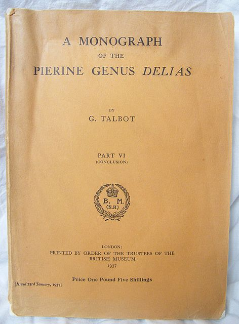 A Monograph of the Pierine Genus Delias.