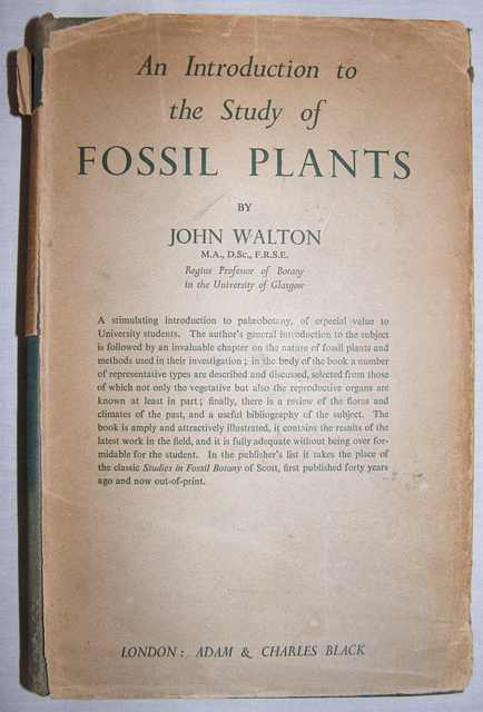 An Introduction to the Study of Fossil Plants.