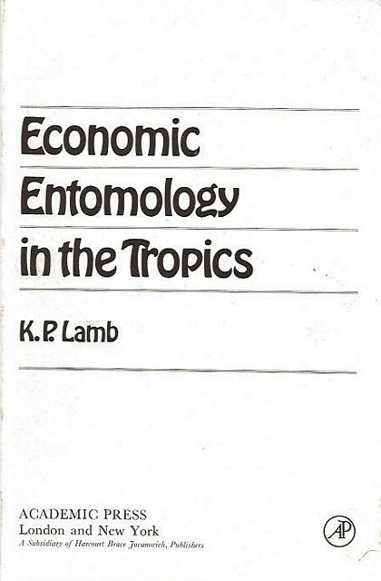 Economic Entomology in the Tropics.