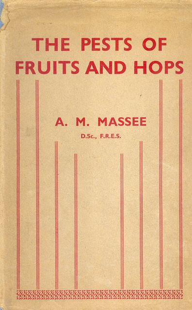 The Pests of Fruits and Hops.