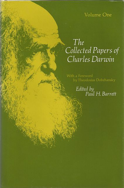 The Collected Papers of Charles Darwin.