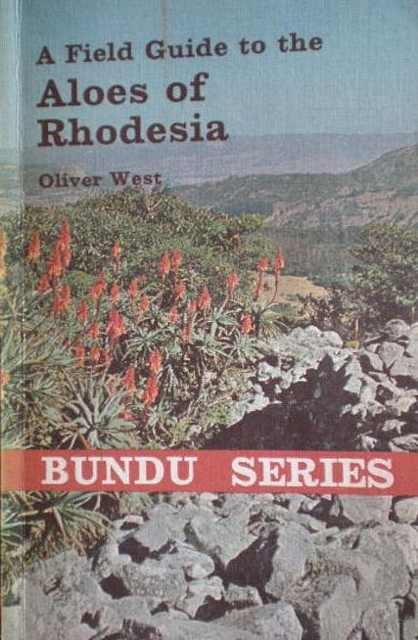 A Field Guide to the Aloes of Rhodesia.