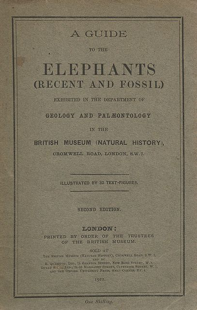A Guide to the Elephants (Recent and Fossil);