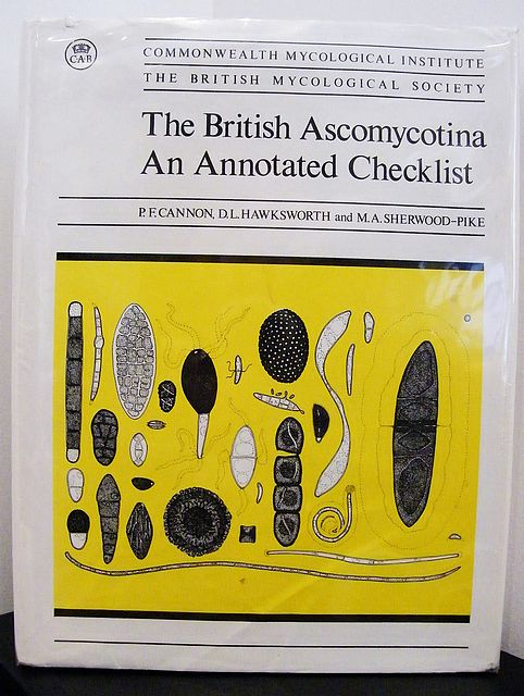 The British Ascomycotina. An Annotated Checklist.
