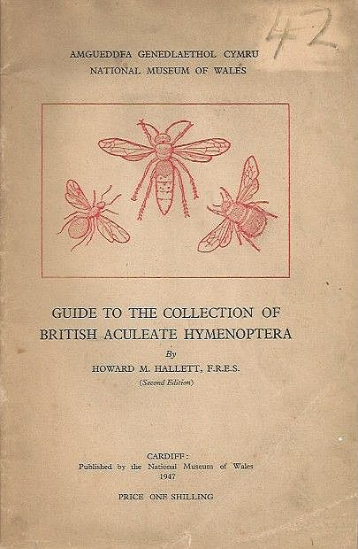 Guide to the Collection of British Aculeate Hymenoptera.