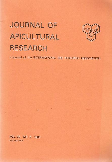 apicultural research papers Journal of apicultural research published on behalf of the international bee research association this journal aims and scope instructions for authors.