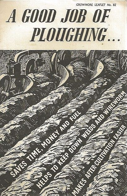 A Good Job of Ploughing...