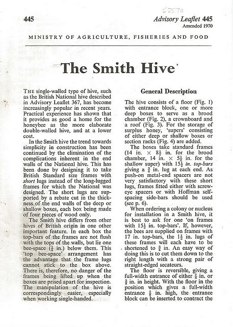 The Smith Hive.