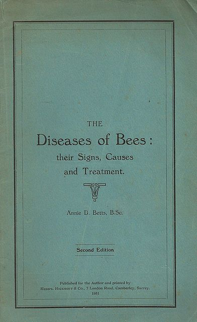 The Diseases of Bees: