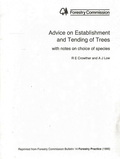 Advice on Establishment and Trending of Trees.