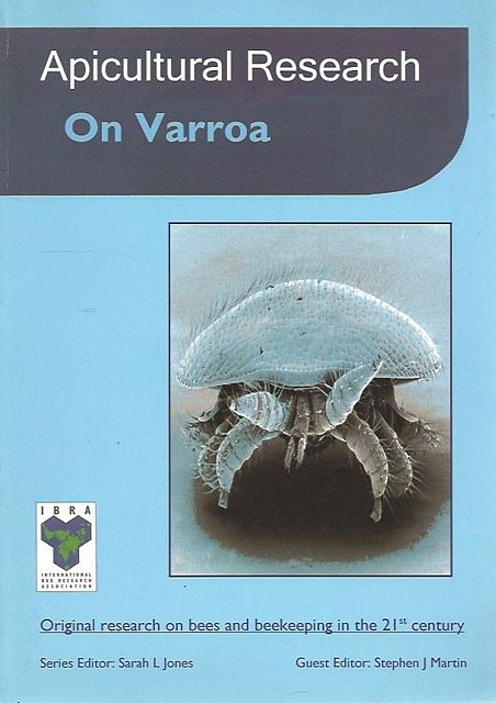 Apicultural Research On Varroa.