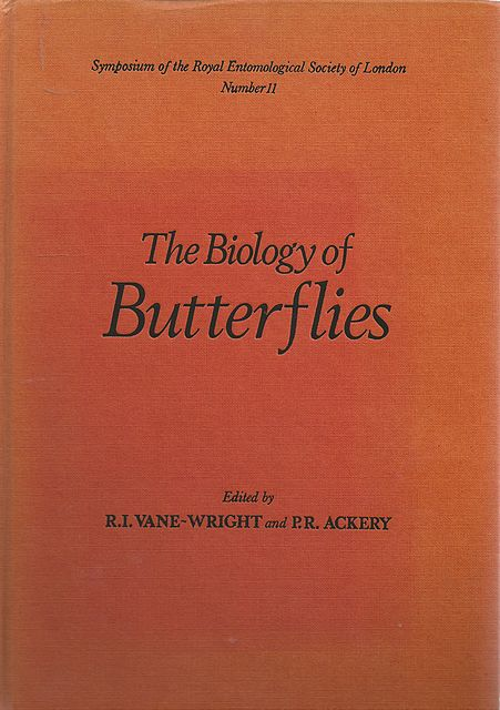 The Biology of Butterflies.