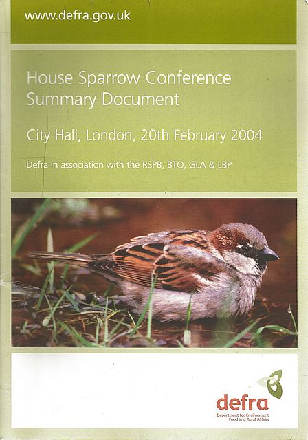 House Sparrow Conference Summary Document.