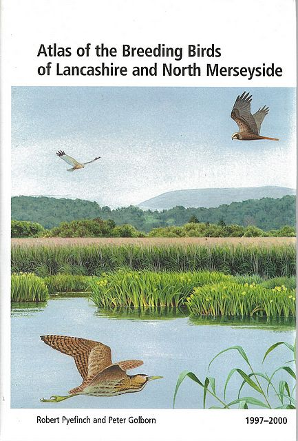 Atlas of the Breeding Birds of Lancashire and North Merseyside.