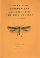 Checklist of Lepidoptera Recorded from the British Isles.